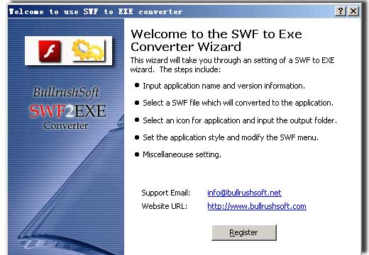 swf to exe, flash to executable file